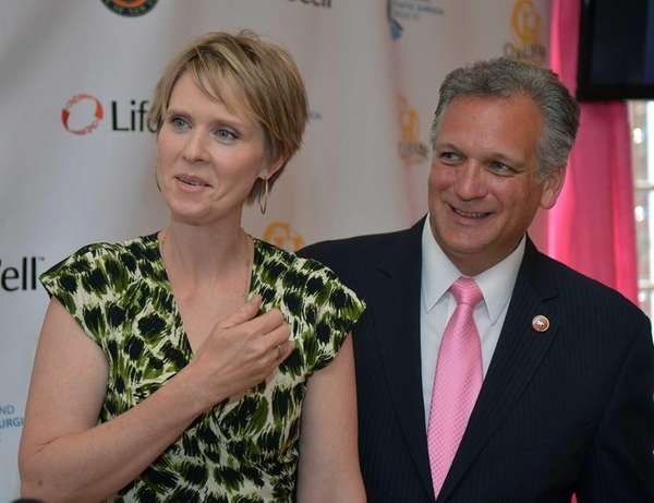 Actress Cynthia Nixon received a lifetime achievement award