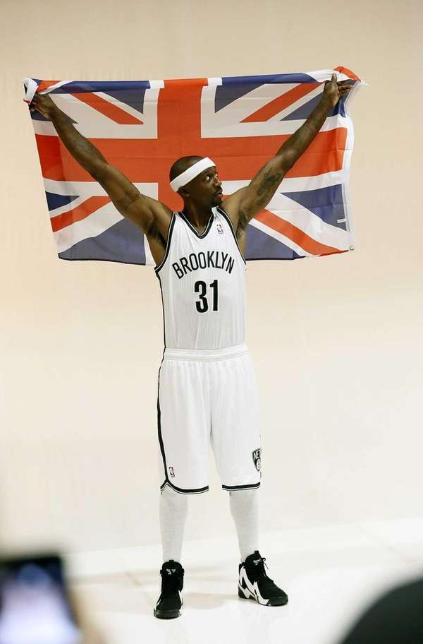 Brooklyn's Jason Terry poses for a portrait with