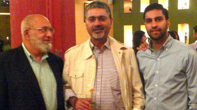 (L-R): Dr. Hafiz Rehman, Anjum Chaudry and Saqib