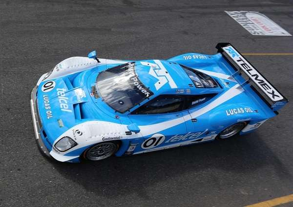 The #01 BMW Riley of Scott Pruett and
