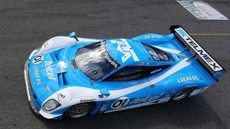 The #01 BMW Riley of Scott Pruett and
