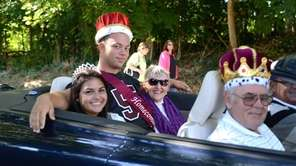 North Shore High School homecoming queen Antonella Maffettone