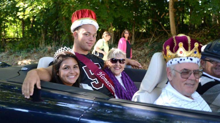 North Shore High School homecoming queen Antonella Maffettone