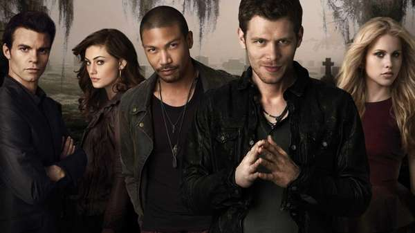 From left, Daniel Gillies as Elijah, Phoebe Tonkin