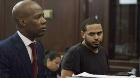 Christopher Cruz, 28, is arraigned on charges of