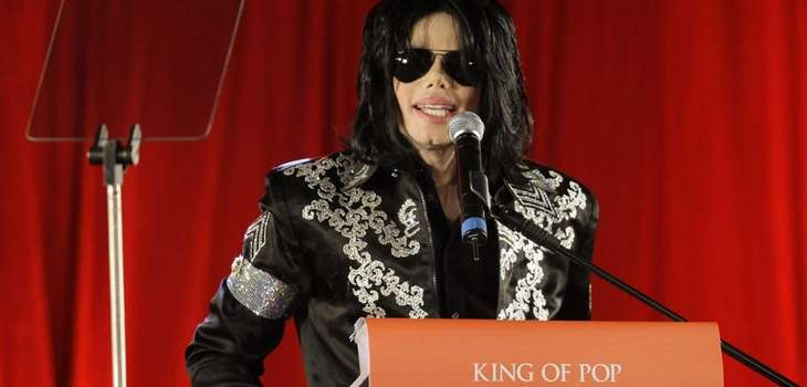 Michael Jackson announces his planned concerts at the