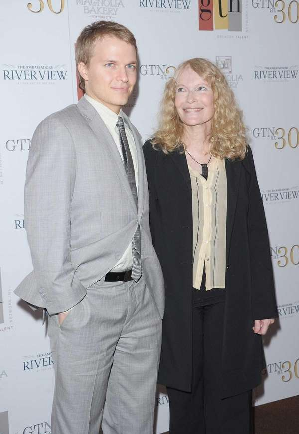 Ronan Farrow and his mother, actress Mia Farrow,