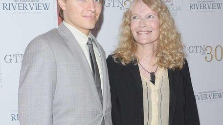 Ronan Farrow and his mother, actress Mia Farrow,