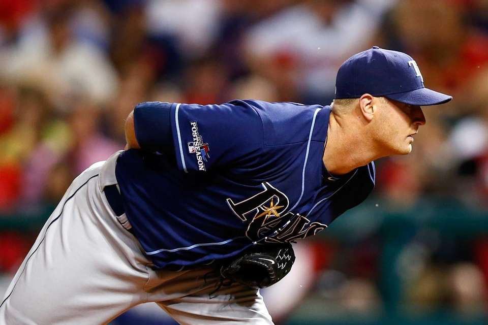 Tampa Bay Rays pitcher Alex Cobb looks to