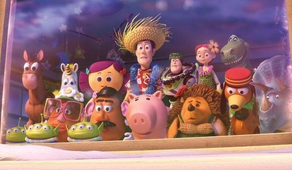 Woody, the cowboy to Tim Allen's Buzz Lightyear