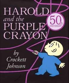 """Harold and the Purple Crayon"" is on the"