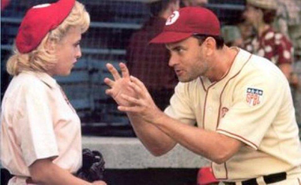 Jimmy Dugan in the baseball favorite