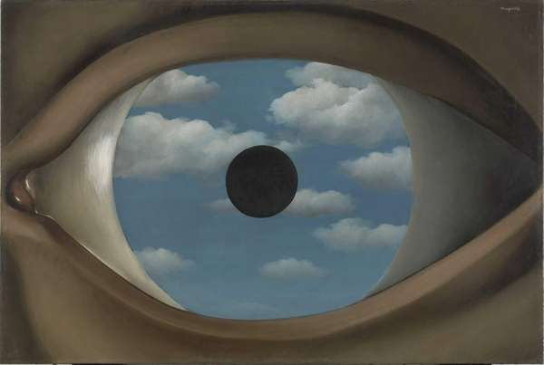 "Rene Magritte's ""The False Mirror"" (1929) is part"