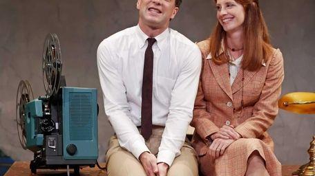 Euan Morton and Mandy Siegfried in a scene