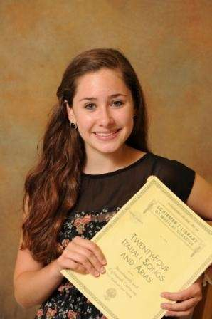 Madison McCoy, September Scholar Artist for Suffolk County