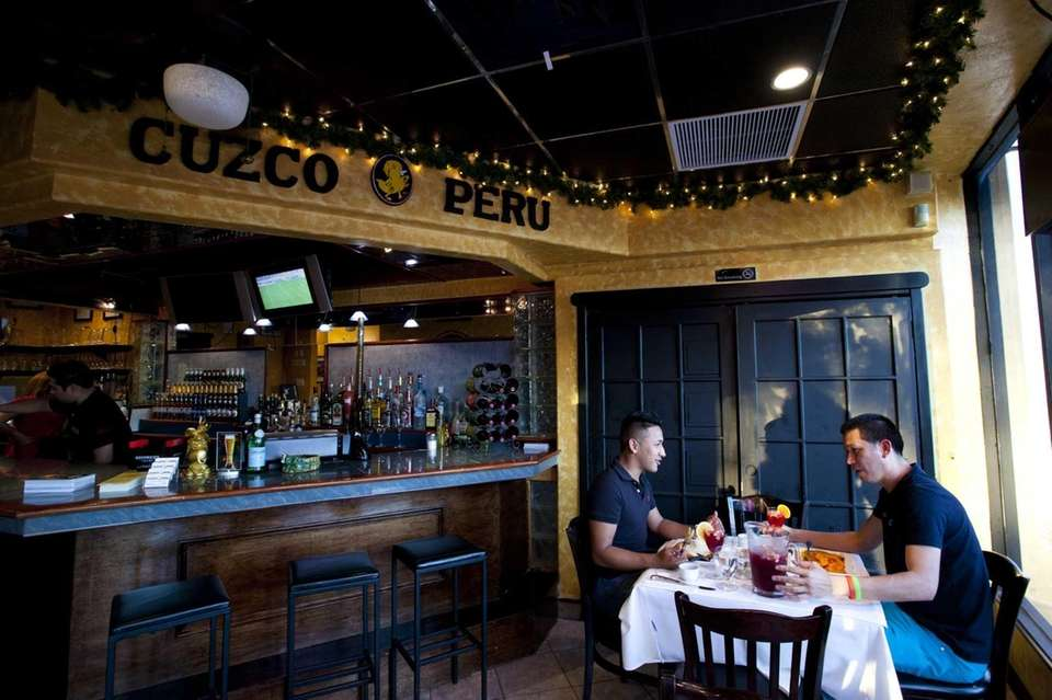 Diners at Cuzco Peru in Lynbrook enjoy dinner