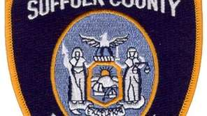 An image of the patch worn by Suffolk