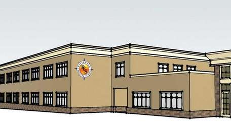 Rendering of the Riverhead Charter school.