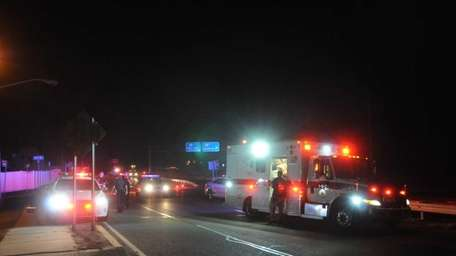 An early morning hit-and-run crash seriously injured a
