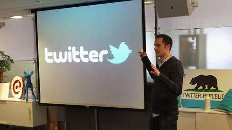 Evan Williams, Twitter co-founder, and CEO at the