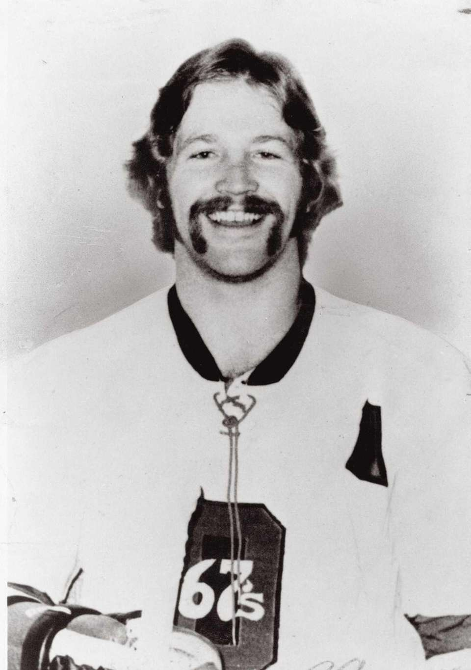 Denis Potvin of the Islanders poses for a