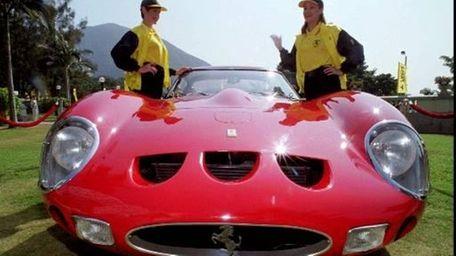 A 1963 Ferrari 250GTO series 1 is on
