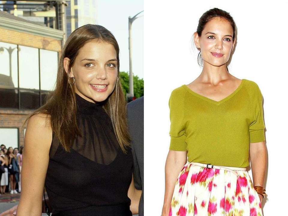 Katie Holmes arrives for the premiere of