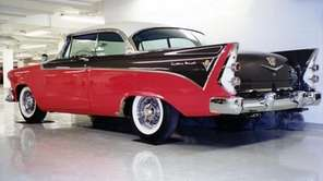 The 1956 Dodge Custom Royal is representative of
