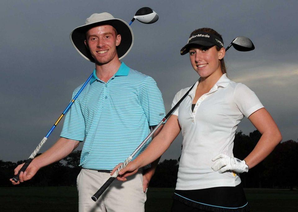 Farmingdale senior Matt Lowe and sister Alix Lowe,