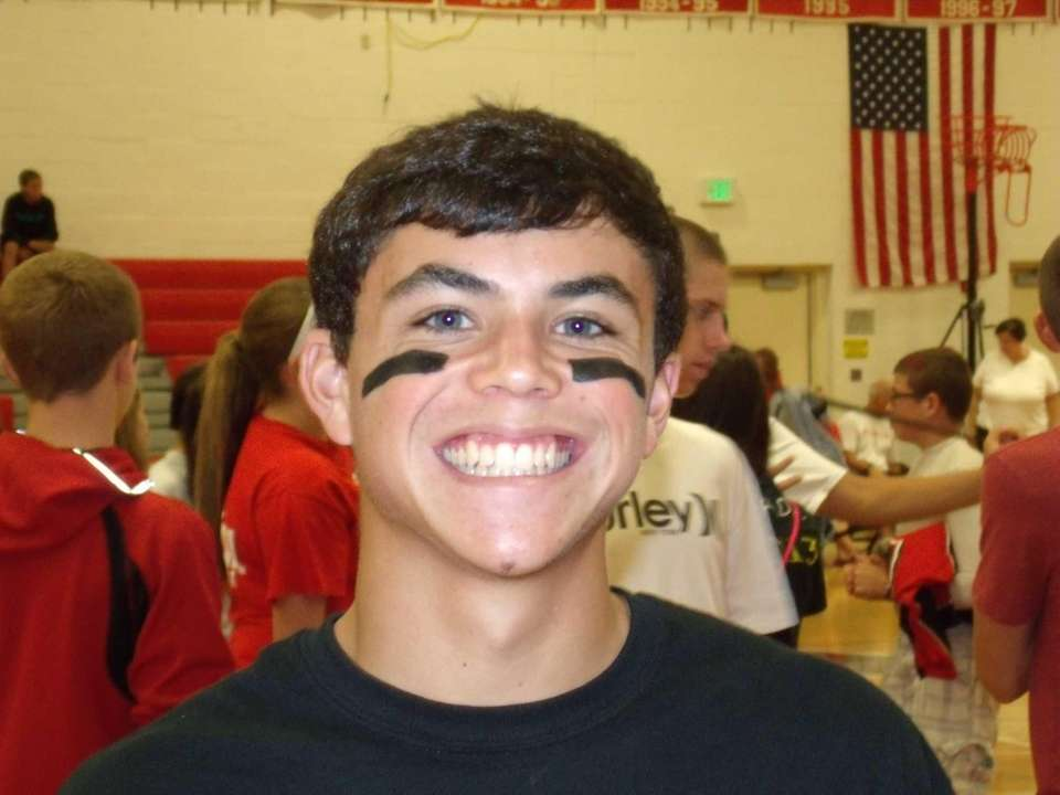Center Moriches High School junior Anthony Parlato Jr.