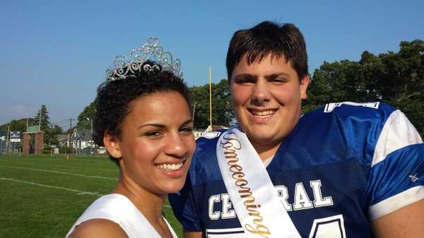 Valley Stream Central High School homecoming queen Courtney