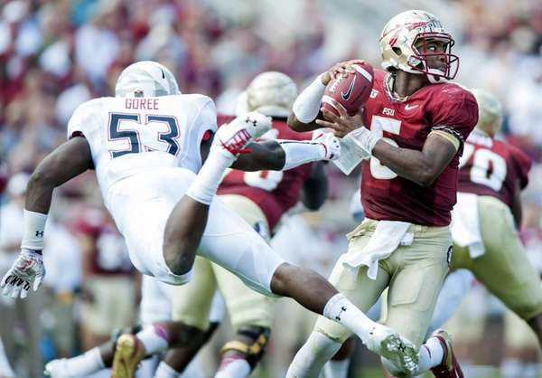 TALLAHASSEE, FL - OCTOBER 5: Jameis Winston #5