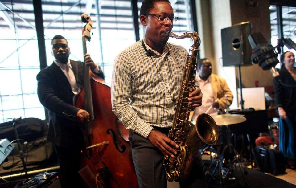 Ravi Coltrane, son of jazz great John Coltrane,