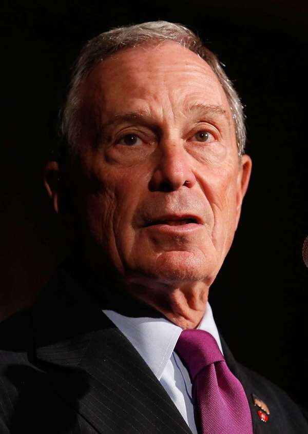 New York Mayor Michael Bloomberg speaks at The