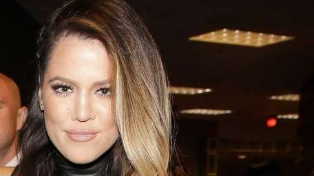 Khloe Kardashian attends the iHeartRadio Music Festival at