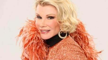 Joan Rivers, seen in a publicity shot for