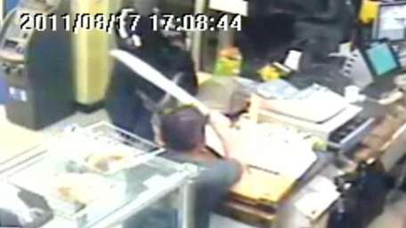 Suffolk Police released video surveillance footage Monday from