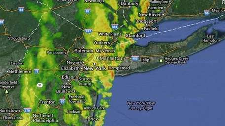 Long Islanders should prepare for a messy evening