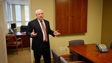 Ted Weiss, who says demand for full-service office