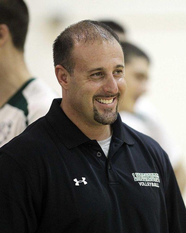 Lindenhurst boys volleyball head coach Kevin Muscarello. Muscarello,