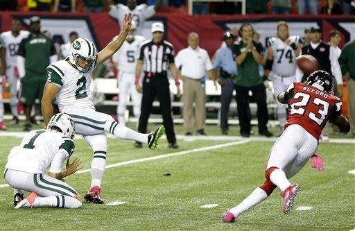 Nick Folk (2) kicks the winning field goal