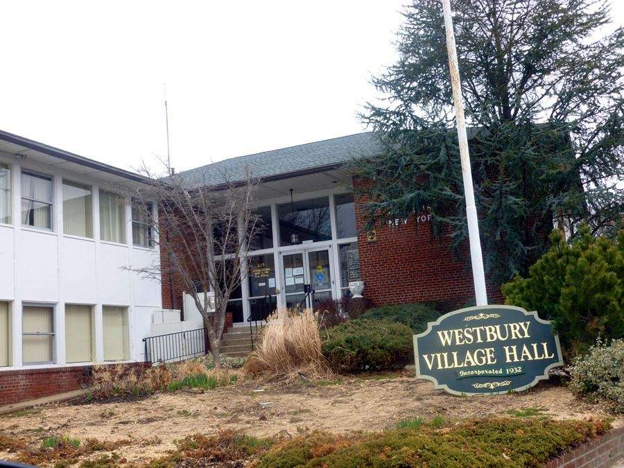 Westbury Village Hall in Westbury on March 14,