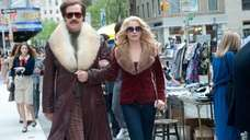 Will Ferrell as Ron Burgundy and Christina Applegate