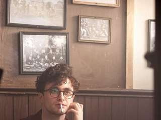 "Daniel Radcliffe as Allen Ginsberg in ""Kill Your"