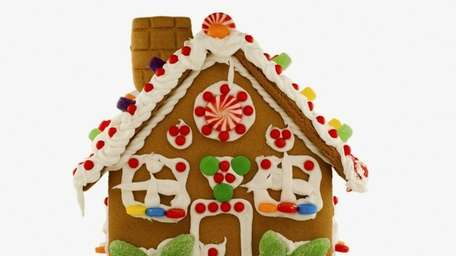 The Chocolate Duck is sponsoring a gingerbread house