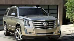 The Escalade's 6.2-liter V-8 engine has been overhauled