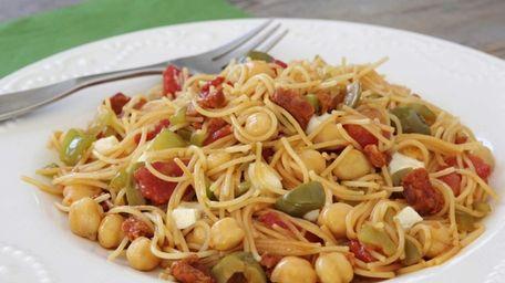 Sherry vinegar and cured chorizo will add distinctive