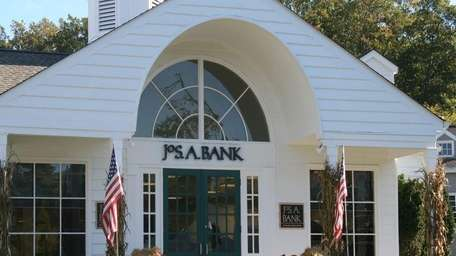 The Jos. A. Bank store on Main Street