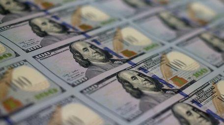 $100 bills made their debut in October 2013.