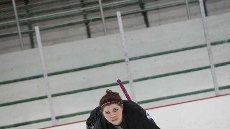 Long Island Curling Club member Alison Piatt travels